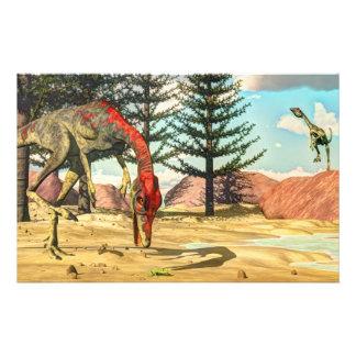 Papeterie Dinosaures de Compsognathus - 3D rendent