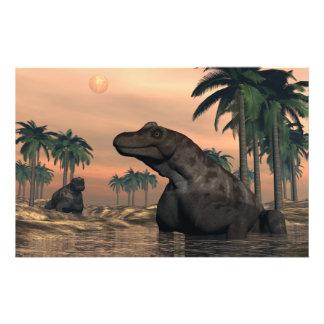 Papeterie Dinosaures de Keratocephalus - 3D rendent