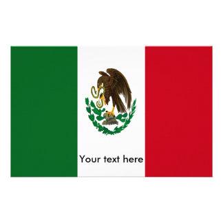 Papeterie Drapeau du Mexique