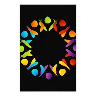 Papeterie Élément ou bannière de conception de fractale