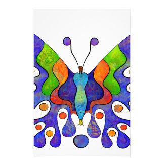 Papeterie Elenissina - papillon coloré