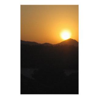 Papeterie ensemble du soleil de hausse du soleil