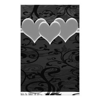 Papeterie Ensemble Romance étoilé de blanc