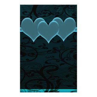 Papeterie Ensemble Romance étoilé de bleu