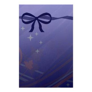 Papeterie Étoiles et arcs de remous réglés