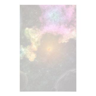 Papeterie Explosion colorée de galaxie