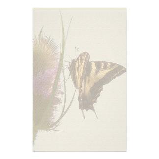 Papeterie Faune florale de fleur de papillon de machaon