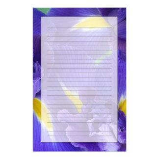 Papeterie Fleurs d'iris