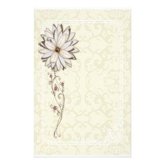 Papeterie florale élégante