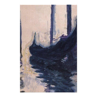 Papeterie Gondole à Venise par Claude Monet