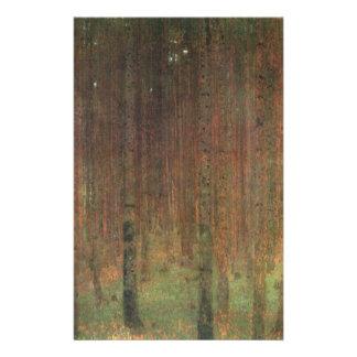 Papeterie Gustav Klimt - forêt de pin