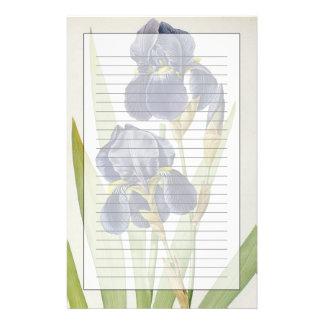 """Papeterie Iris Germanica, de """"Les Liliacees"""", 1805"""