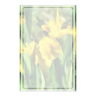 Papeterie Iris japonais jaunes
