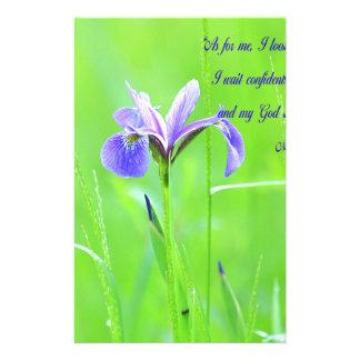 Papeterie Iris pourpre