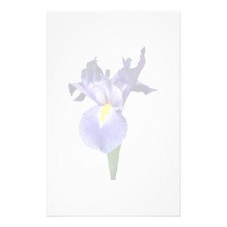 Papeterie Iris pourpre sensible