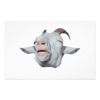 Papeterie La chèvre heureuse est fanée