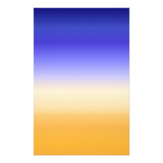 Papeterie la hausse colorée abstraite du soleil a inspiré