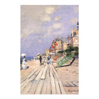 Papeterie La promenade chez Trouville Claude Monet