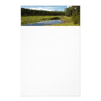 Papeterie Lac I swan au parc national grand de Teton