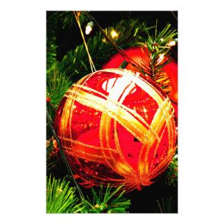 Papeterie Le joyeux arbre de vacances de Noël ornemente la