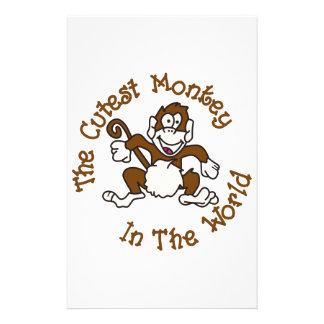 Papeterie Le singe le plus mignon