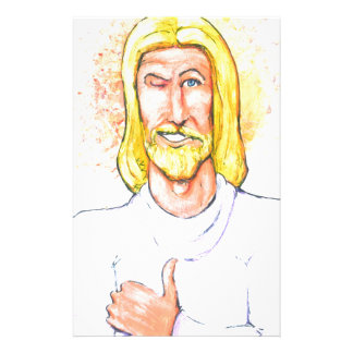 Papeterie Les pouces lèvent Jésus