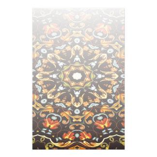 Papeterie L'orange chic de Zendala de hippie part du mandala