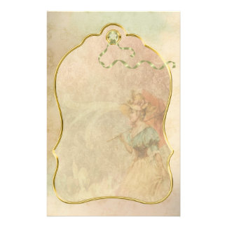 Papeterie Madame victorienne vintage Umbrella Stationery