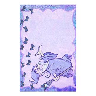 Papeterie Magicien bleu stationnaire