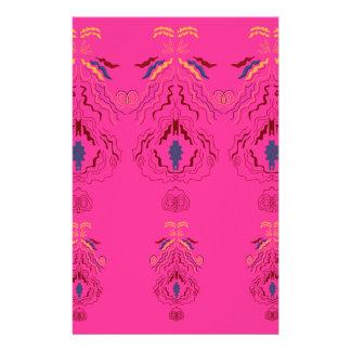 Papeterie Mandala arabe rose