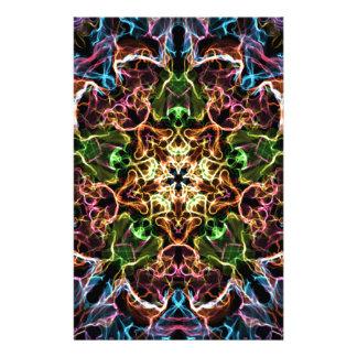 Papeterie Mandala au néon