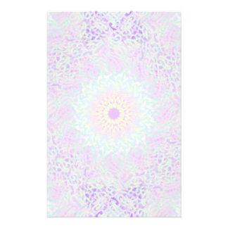 Papeterie Mandala en pastel d'amour doux (grand)