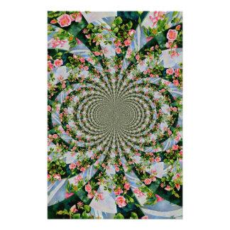 Papeterie Mandala rose de Mackinac