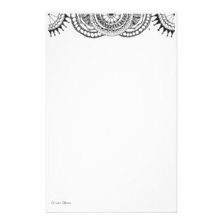 Papeterie mandalas de zentnagle - bulles et lignes