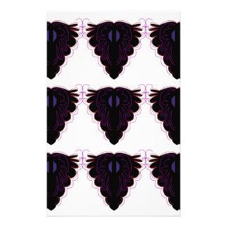 Papeterie Mandalas noirs et blancs/sur le blanc