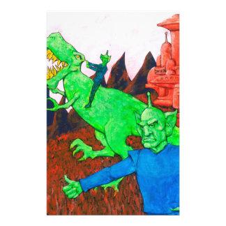 Papeterie Martien et T-Rex