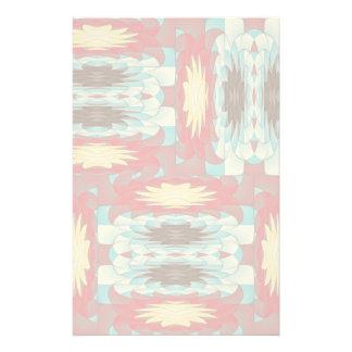 Papeterie Motif coloré complexe