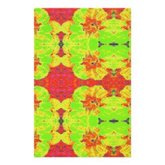 Papeterie Motif de fleur floral abstrait de dahlia
