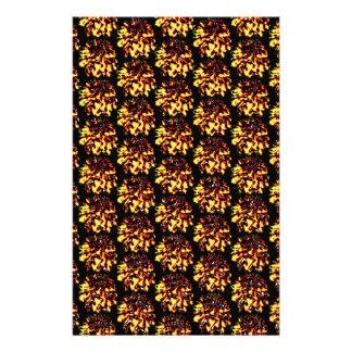 Papeterie Motif de fleur floral de dahlia