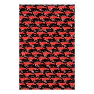 Papeterie Motif de Krill dans le noir