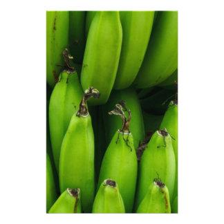 Papeterie Motif vert de fruit de banane