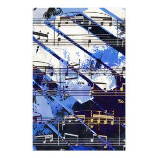 Papeterie musique, décor de piano (3)