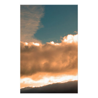 Papeterie Nuages au coucher du soleil