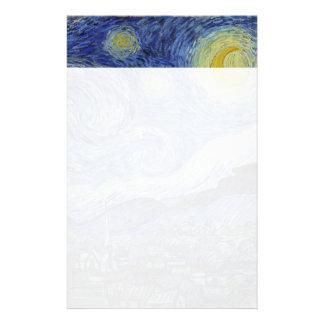 Papeterie Nuit étoilée Vincent van Gogh