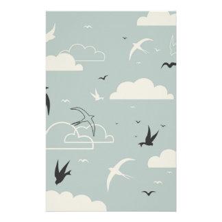 Papeterie Oiseau dans le ciel