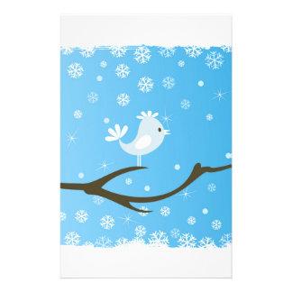 Papeterie Oiseau sur un arbre