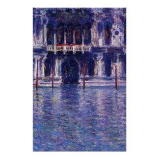 Papeterie Palazzo Contarini par Claude Monet