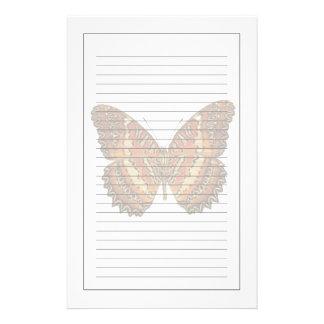 Papeterie Papillon avec la diffusion d'ailes