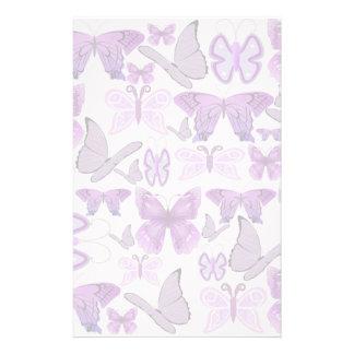 Papeterie Papillons pourpres de conscience