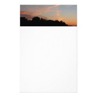 Papeterie Paysage du Maryland de coucher du soleil